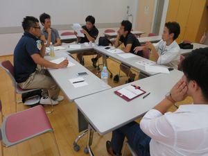 千葉市生涯学習センター,NPO法人塗装工事研究会,打ち合せ